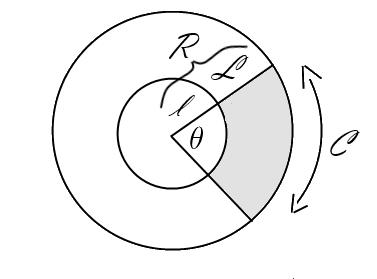 Arc pattern segment