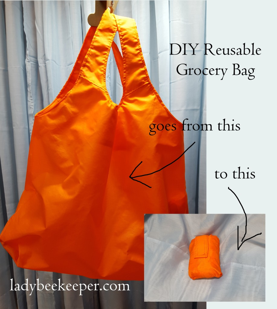 Diy Reusable Grocery Bag And Emergency Parachute