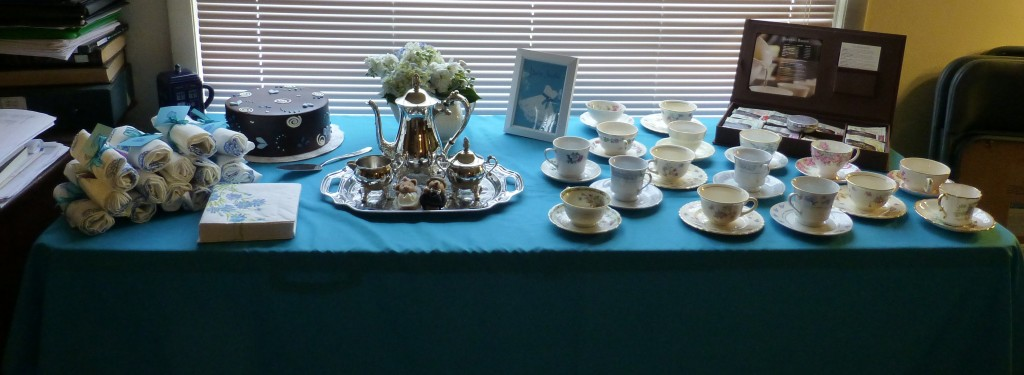 The tea table