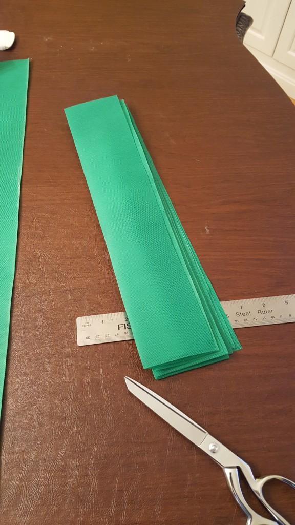Cut pattern rectangles