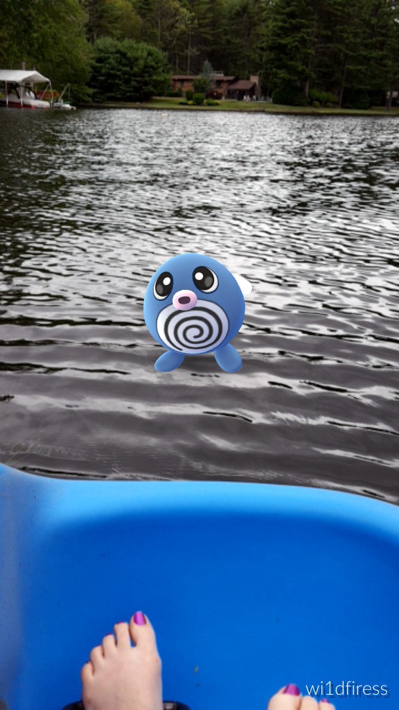 A wild poliwag appeared!